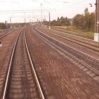Из последнего вагона поезда... в движении..., Сафоново