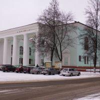 Колонный ряд Дворца Культуры на площади Тухачевского..., Сафоново