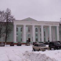 Дворец культуры (1954) на площади Тухачевского..., Сафоново