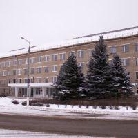 Здание администрации города на площади Тухачевского..., Сафоново