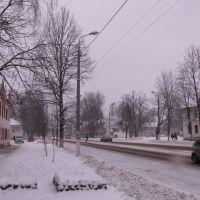 На центральной улице Ленина города Сафоново Смоленской области..., Сафоново
