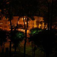 Ночной Смоленск из гостиницы, Смоленск
