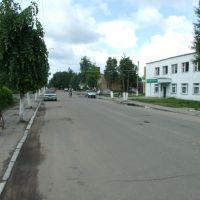 Хиславичи, центральная улица, Хиславичи