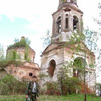 д.Рай, церковь, Шумячи