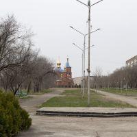 Вид на церковь Церковь Казанской иконы Божией Матери, Солнечнодольск