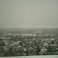 Мое любимое село зимним вечером, Александровское