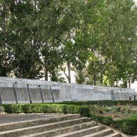 Свежие надписи: имена воинов-интернационалистов и тех, кто погиб в горячих точках, Александровское