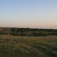 Вид на окраину села Прасковея, Арзгир