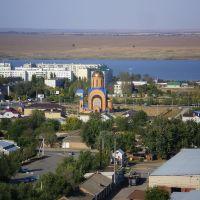 г.Буденновск, вид с элеватора, Арзгир