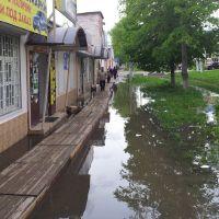 После дождя. (вот такие у нас тротуары), Георгиевск