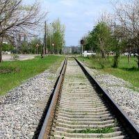 железнодорожный переезд на ул. Калинина, Георгиевск