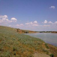 на берегу пруда, Дивное