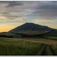Вечер у горы Бык (Evening near mountain Byck), Домбай