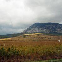 """Brillamento solare ai piedi di """"Mountagna Serpento"""", il Caucaso del Nord. 2011, Домбай"""