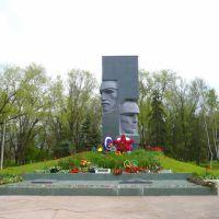 Монумент в парке., Донское