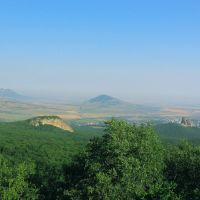 Вид от подножья Бештау (View from the foot of Beshtau), Карачаевск