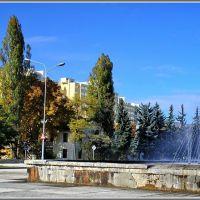 Victory Avenue + Fountain  / Проспект Победы + фонтан, Кисловодск