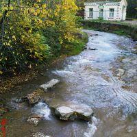 Река Ольховка в парке, Кисловодск