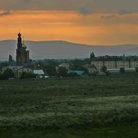 станица ранним утром, Кочубеевское
