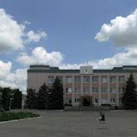 Курсавка, ул. Красная, перед районной администрацией, Курсавка