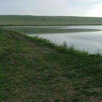 Панорама. Курсавка. Лиман и заброшенный пруд за железкой, за школой., Курсавка