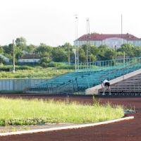 Панорама. Курсавка. Стадион изнутри. Вид на Роддом и поликлинику., Курсавка