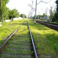 Переход Через Железную Дорогу (Нахаловка). Go over the railway (Nakhalovka), Минеральные Воды