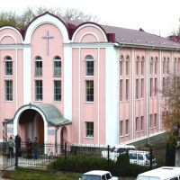Church of Evangelical Christians. A city of Mines-waters., Минеральные Воды