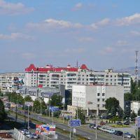 вид с крыши ЦУМа, Невинномысск