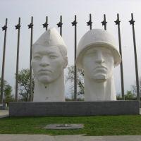 Памятник героям и вечный огонь, Нефтекумск