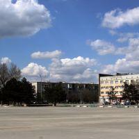 городская площадь им. Ленина, Нефтекумск