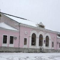 Ж/д вокзал, Новоалександровск