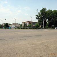 Перекрёсток ул. Ставропольская и ул. Гагарина (Crossroads st. Stavropol and st. Gagarin), Новопавловск
