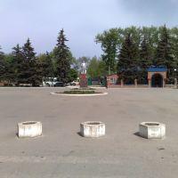 Площадь Кирова, Новопавловск