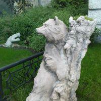 """Скульптура """"Медведя"""" в Зооэкзотеррариуме, Ставрополь"""