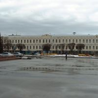 Lenin square, museum of local lore, Ставрополь