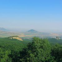 Вид от подножья Бештау (View from the foot of Beshtau), Усть-Джегута