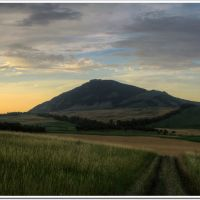 Вечер у горы Бык (Evening near mountain Byck), Хабез
