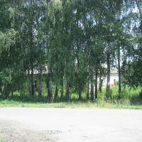 когда то  здесь была сельская школа, Первомайский
