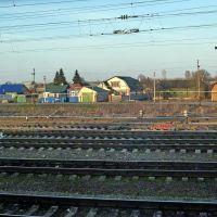 Тамбовская область, вид из окна поезда, Первомайский