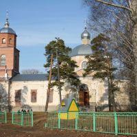 Покровская церковь., Гавриловка Вторая