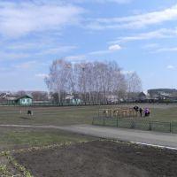 Ранняя весна, с крыльца  2 Гавриловской школы, Гавриловка Вторая