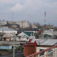 панорама центра города, Жердевка