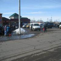 Площадь у автовокзала и рынка г. Жердевка 24.03.2011г, Жердевка