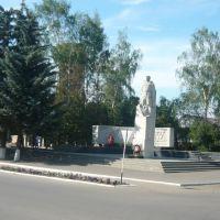 памятник войнам ВОВ в п. Знаменка, Знаменка