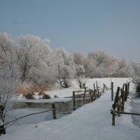 Зимний пейзаж, Знаменка