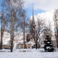 Ильинский собор зимой, Мичуринск