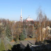 Ильинская церковь и пл. Мичурина, Мичуринск