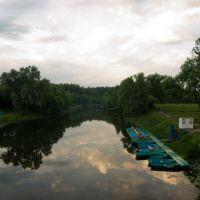 Утро на реке Лесной Воронеж, Мичуринск