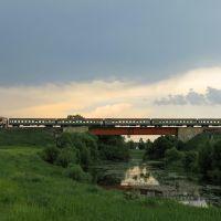 Пригородный на мосту через р. Битюг, Мордово